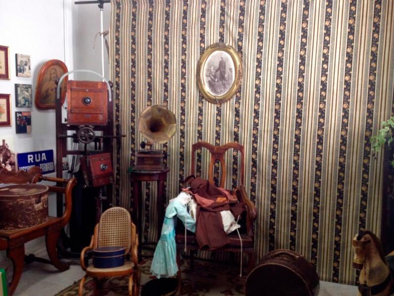 Local para tirar fotos vintage no Museu da Imigração em São Paulo