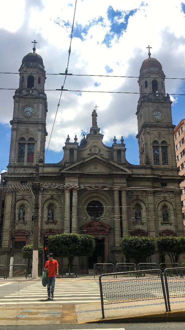 Paróquia Bom Jesus do Brás no Passeio pelo BRÁS em São Paulo