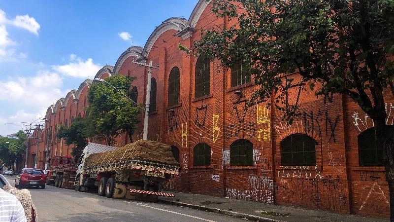 Antiga Tecelagem Mariangela no Passeio pelo BRÁS em São Paulo