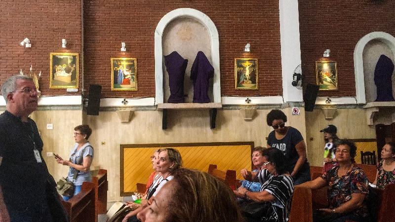 Paróquia de São Vito no Passeio pelo BRÁS em São Paulo