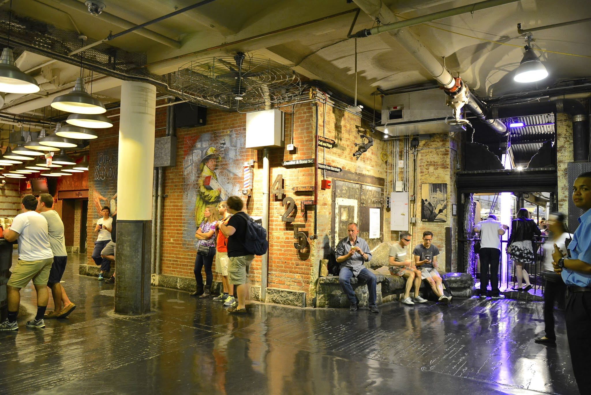 Chelsea Market, NYC, New York, Nova Iorque, USA< EUA