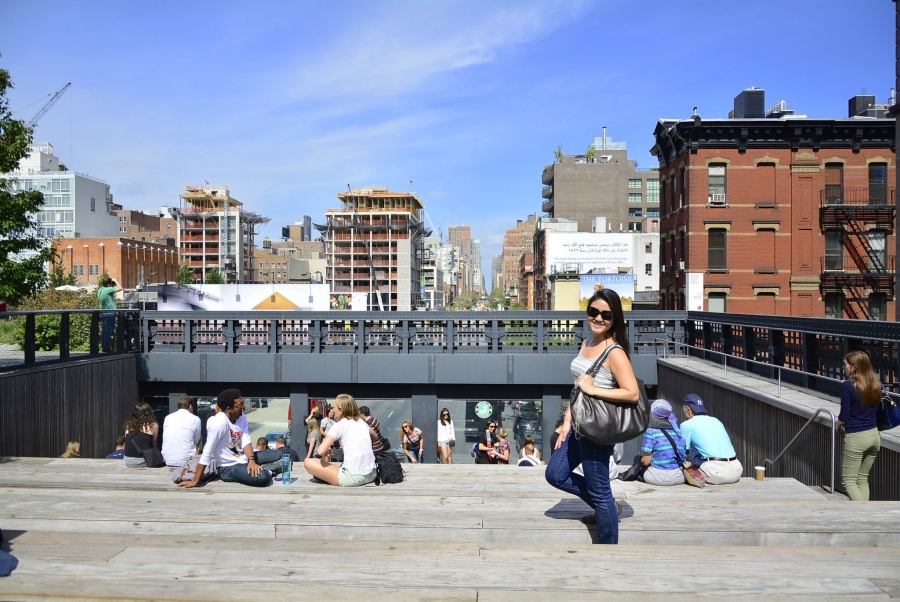 High Line, New York, Nova Iorque, USA, EUA
