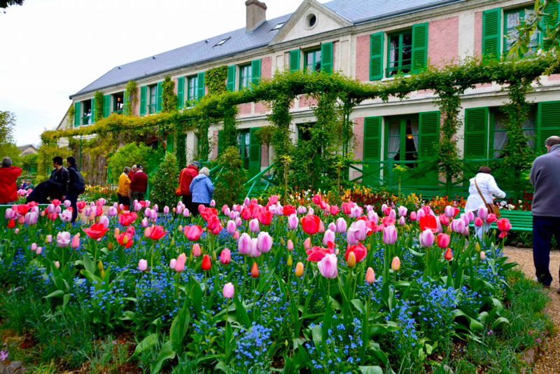 Fondation Claude Monet em Giverny na França
