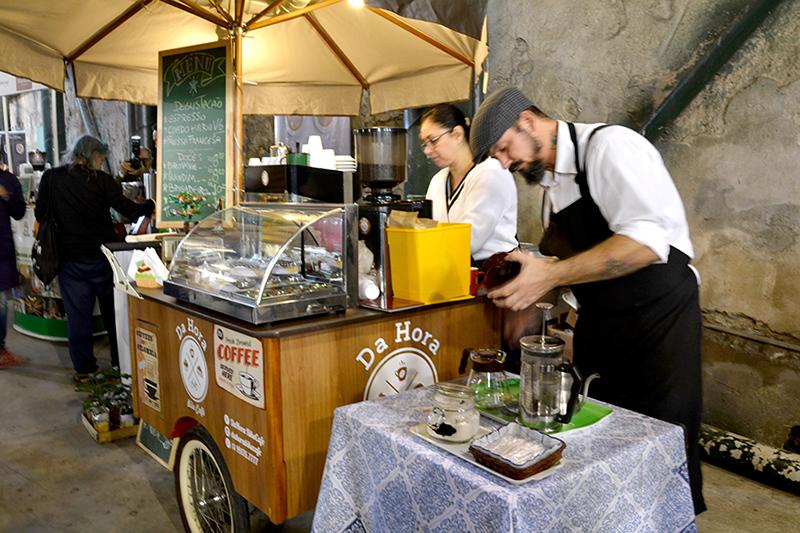 Evento sobre café em Santos, São Paulo