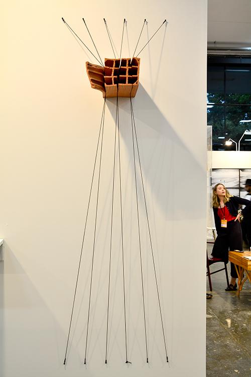 Andrey Zignato na SP-Arte 2017 no Pavilhão da Bienal em São Paulo, Brasil