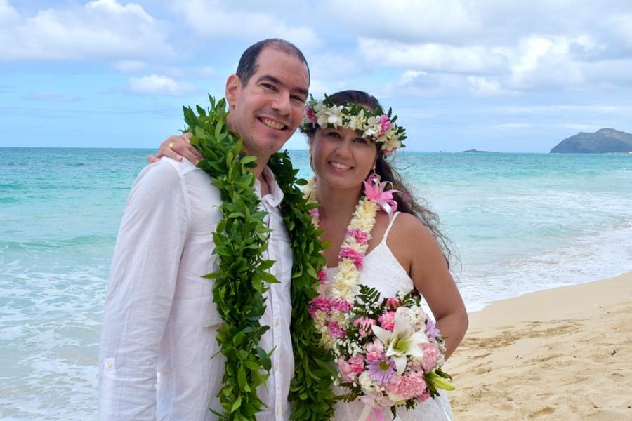 Casamento e lua de mel no Hawaii, Estados Unidos