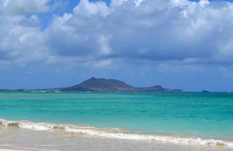 Kailua Beach, Oahu, Casamento e lua de mel no Hawaii, Estados Unidos