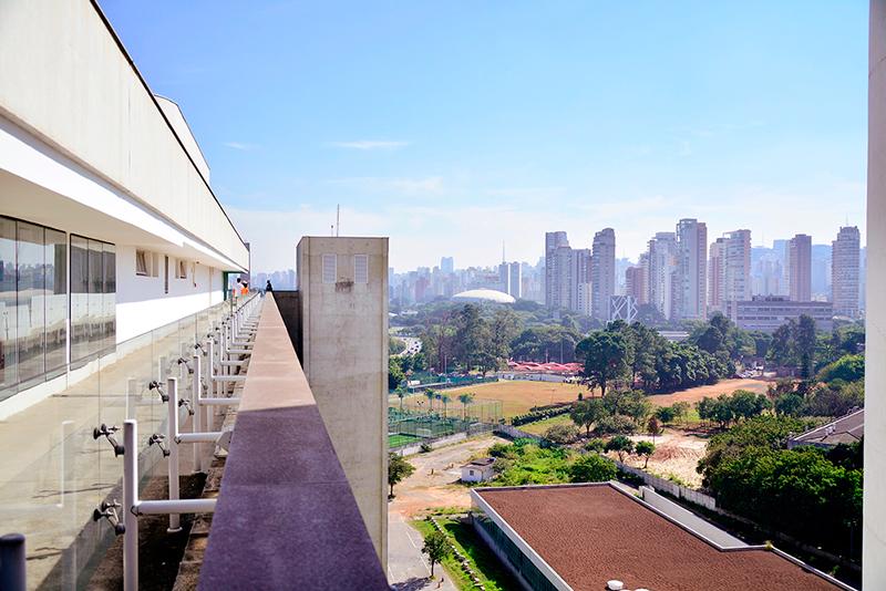 terraço do MAC USP Museu de Arte Contemporânea de São Paulo