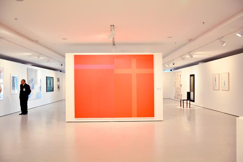 Obra de Paulo Pasta no MAC USP Museu de Arte Contemporânea de São Paulo