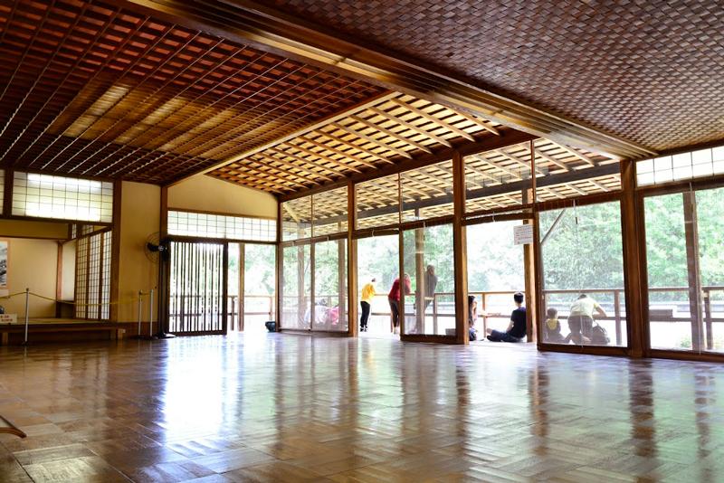 Pavilhão japonês no parque do ibirapuera de São Paulo