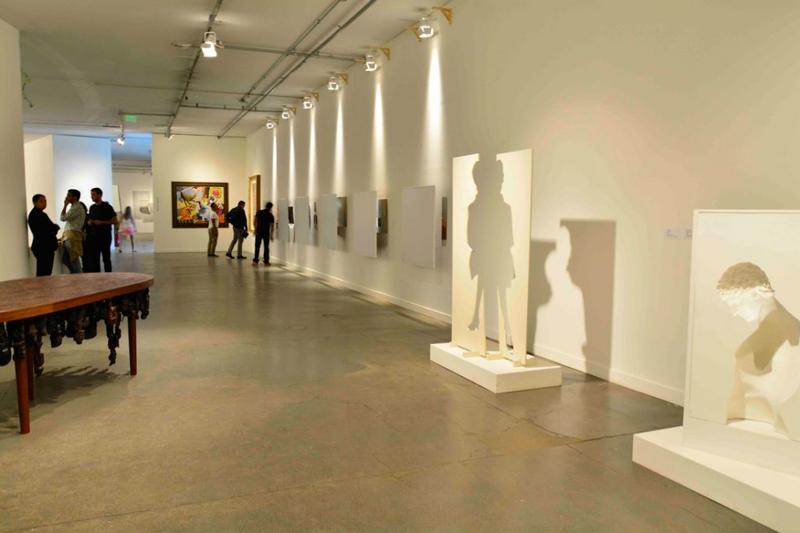 Exposição no Museu Afro brasil no Parque do Ibirapuera em São Paulo