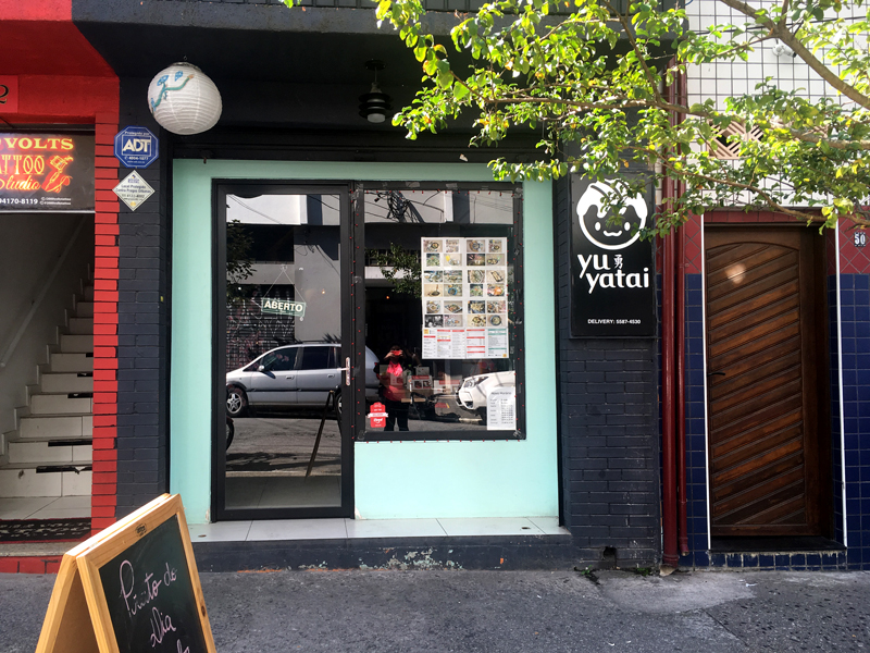 restaurante Yu Yatai em São Paulo