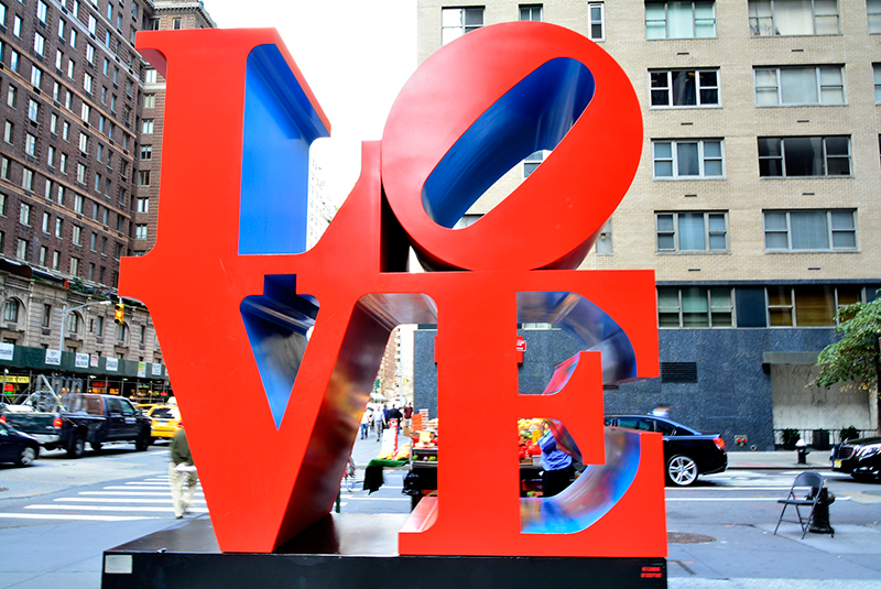 LOVE, Nova Iorque, Estados Unidos