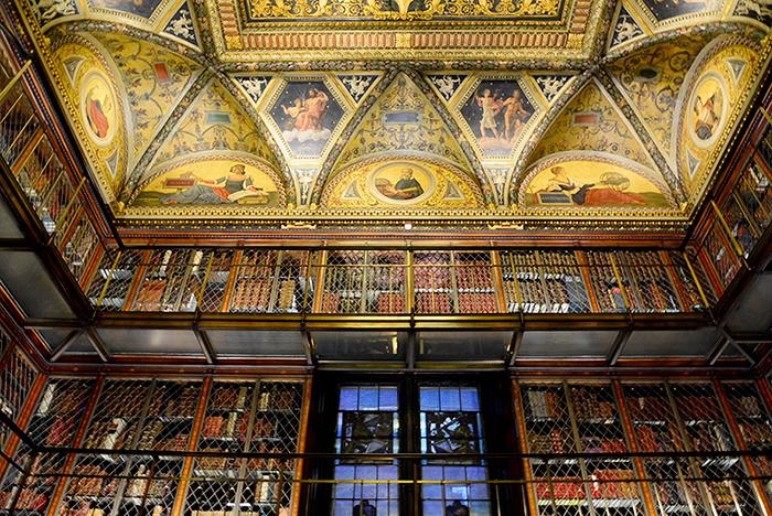 Morgan Library, Nova Iorque, Estados Unidos, Biblioteca