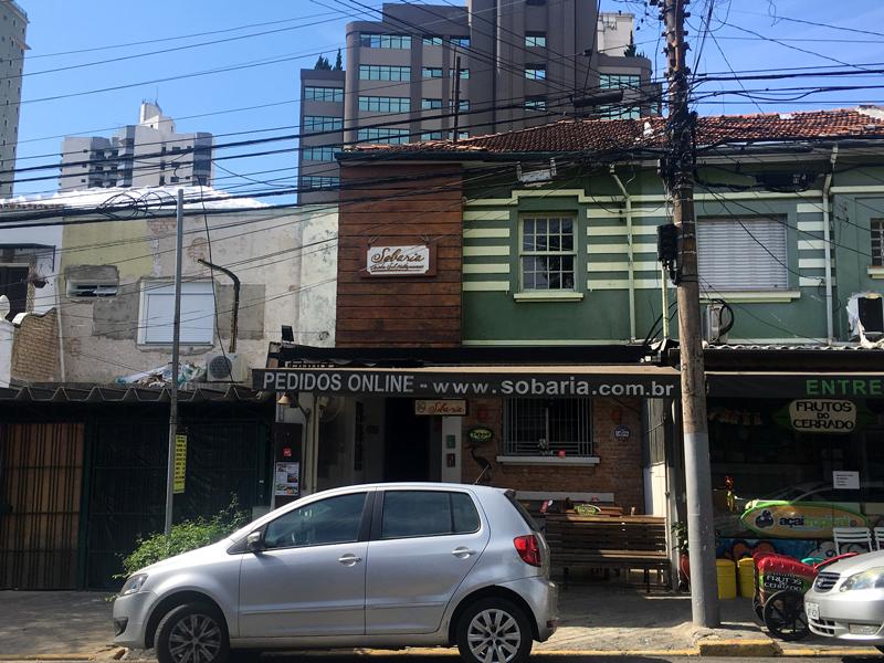 Robataria em São Paulo
