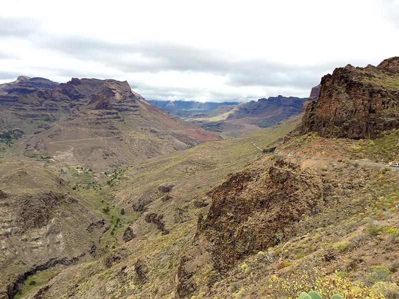 Mirante Degollada de las Yeguas, Gran Canaria, Ilhas Canarias, Espanha