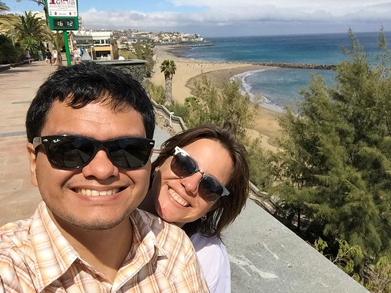 da Playa del Ingles, Ilhas Canarias, Espanha