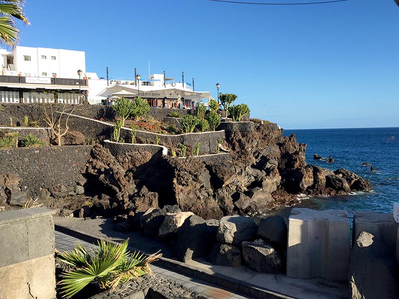 Orla de Puerto del Carmen, Lanzarote, Ilhas Canarias, Espanha