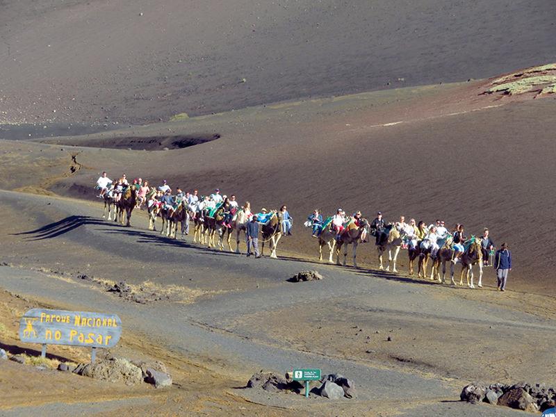 Echadero de Camellos, Lanzarote, Ilhas Canarias, Espanha