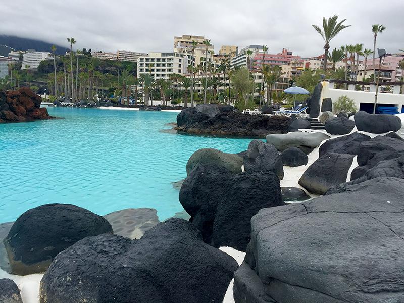 Lago Martianez, Tenerife, Ilhas Canarias, Espanha