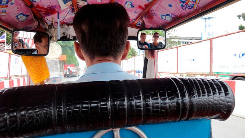 Tuk tuk em Bangkok na Tailandia, Asia