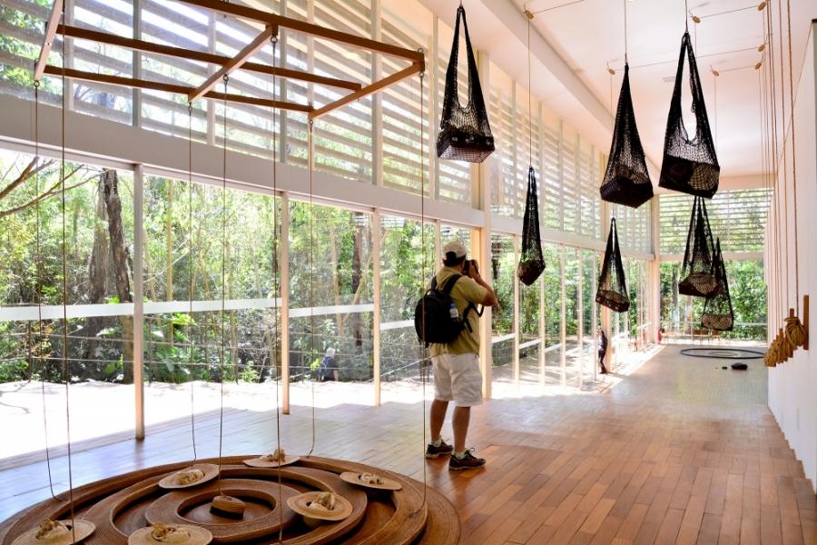 Instituto Inhotim - Rota Laranja, Inhotim, Minas Gerais, Brasil, Arte Contemporânea, Parque, Tunga