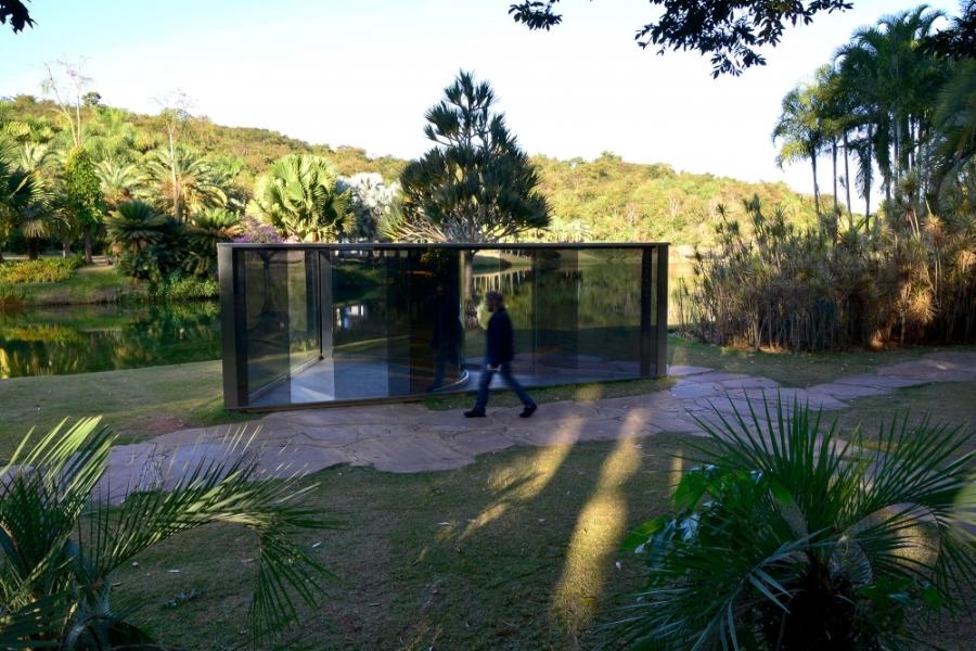 Inhotim, Minas Gerais, Brasil, Arte Contemporânea, Parque, Dan Graham