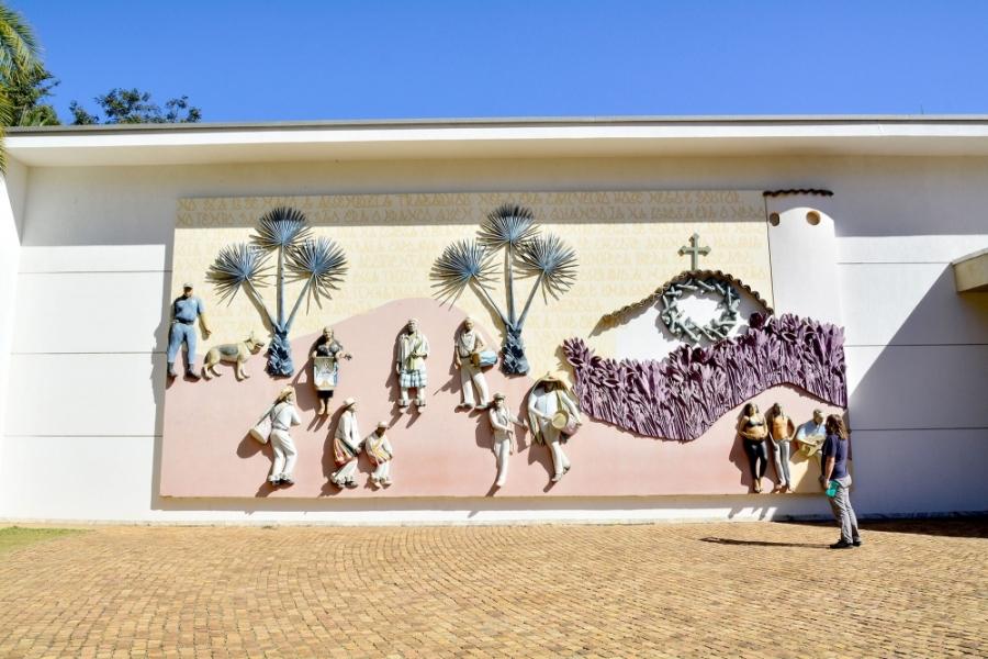 Inhotim, Minas Gerais, Brasil, Arte Contemporânea, Parque, Galeria Praça, John Ahearn, Rigoberto Torres