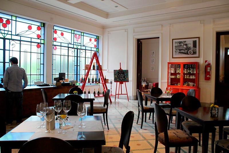 Restaurante do Los Toneles em Mendoza na Argentina