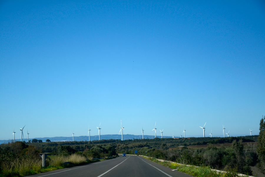 Estrada, Road, Italia, Italy, Sardegna, Sardenha, Isola di Sant'Antiocco