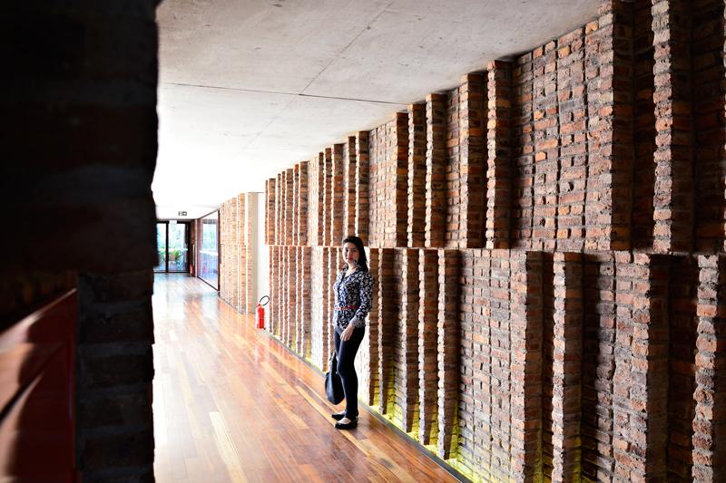 Galeria Claudia Andujar na rota rosa do instituto inhotim em brumadinho minas gerais brasil