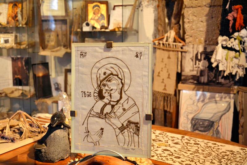 Museo del Biso na Isola di Sant'Antiocco na Sardegna, Itália