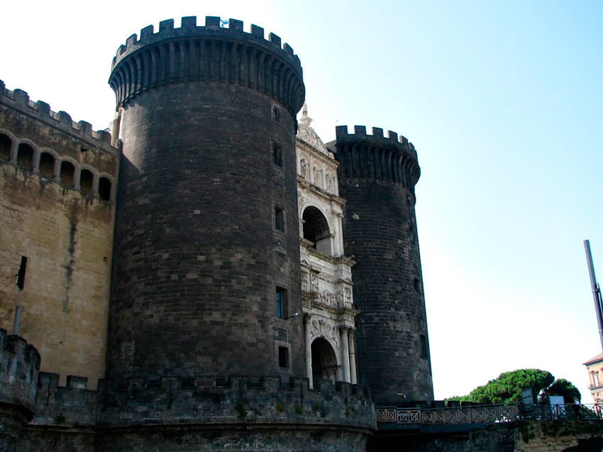 Castel Angioino, Napoli, Italia