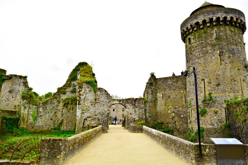 Chateau de Fougeres, Bretagne, France - Bretanha, França