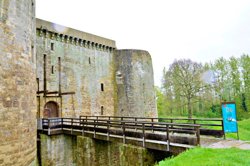 Chateau de la Hunaudaye, Haute Normandie, France - Alta Normandia, França