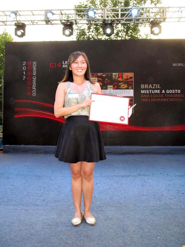 China, prêmio do melhor livro da América Latina pelo Instituto Brasil a Gosto