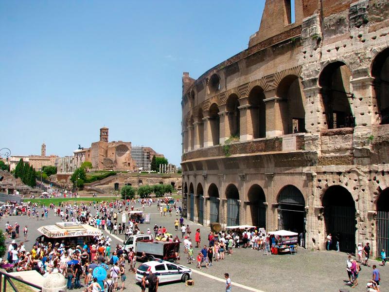 Coliseo, Roma, Italia - Coliseu, Dicas de viagem para Roma