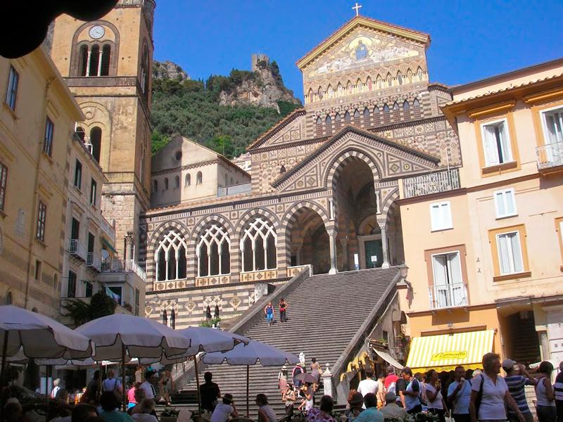 Cattedrale de Amalfi, Amalfi, Costiera Amalfitana, Italia