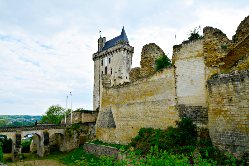 Fortresse Royale de Chinon, Centre, France - França