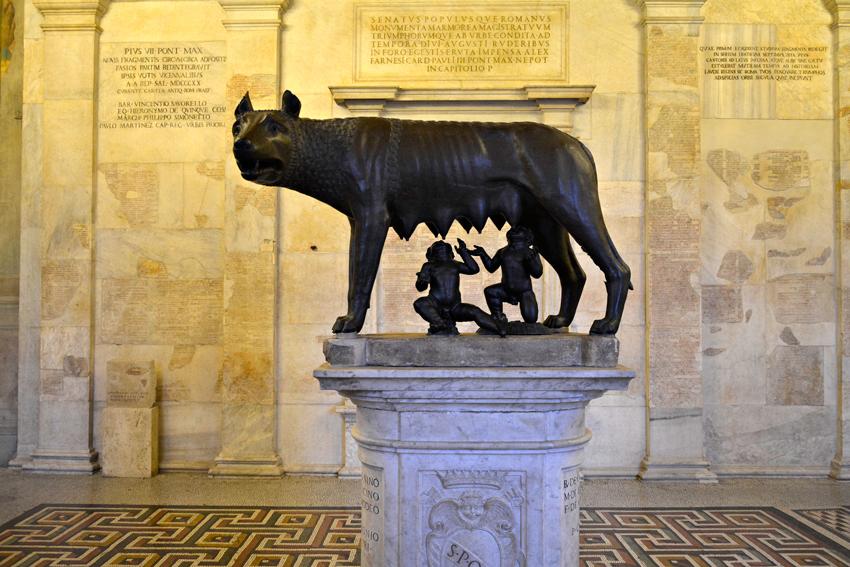 Musei Capitolino, Roma, Italia - Museus Capitolinos