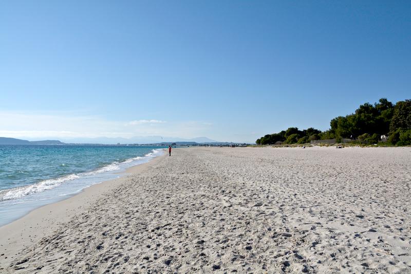 Poetto, Sardegna, Italia - Sardenha