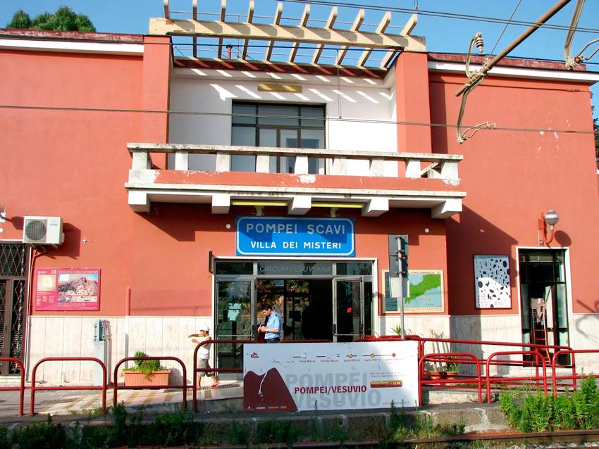 Estação para Scavi di Pompei, Italia - Sítio Arqueológico de Pompéia
