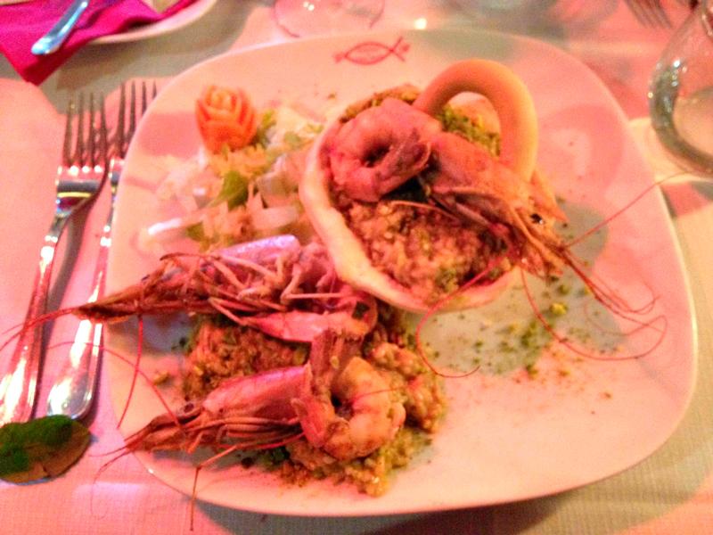 Frutos do mar, Ristorante del Centro Storico, Salerno, Italia