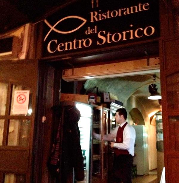 Ristorante del Centro Storico, Salerno, Italia