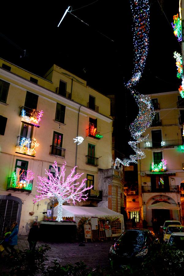 Centro histórico, Salerno, Italia
