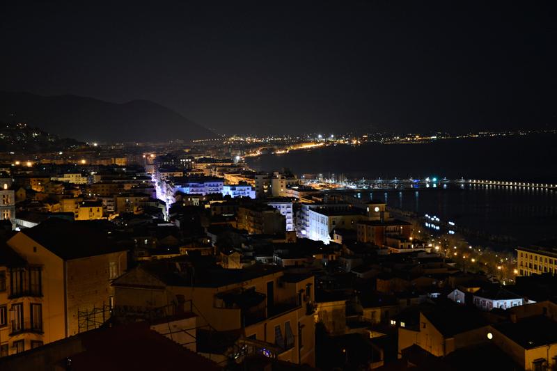 vista do mirante de Salerno Dicas de Viagem a SALERNO NA ITÁLIA