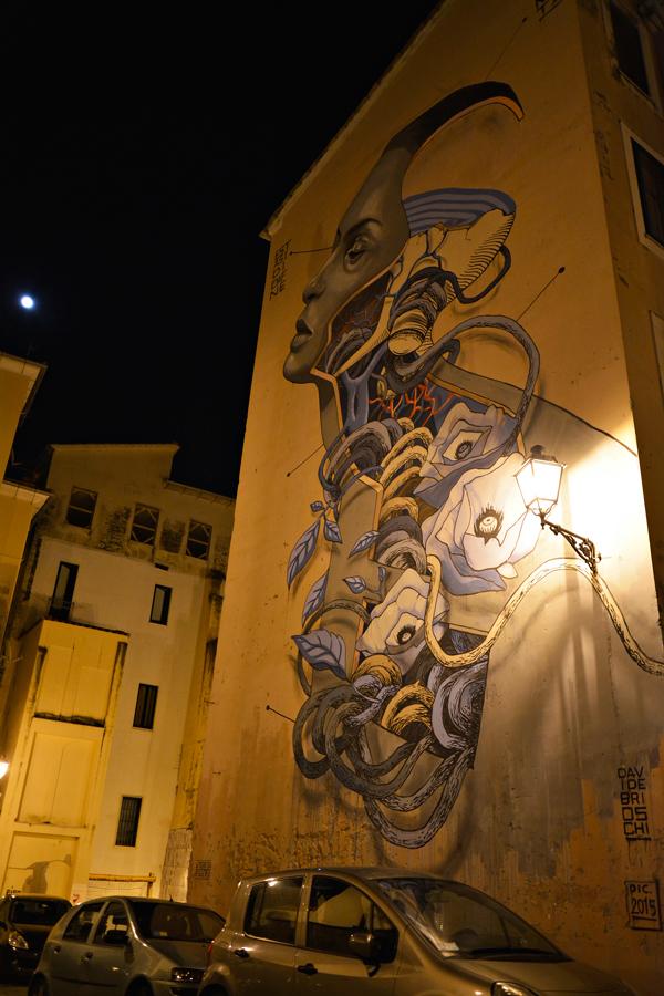 graffiti de Le Fornelle Dicas de Viagem a SALERNO NA ITÁLIA