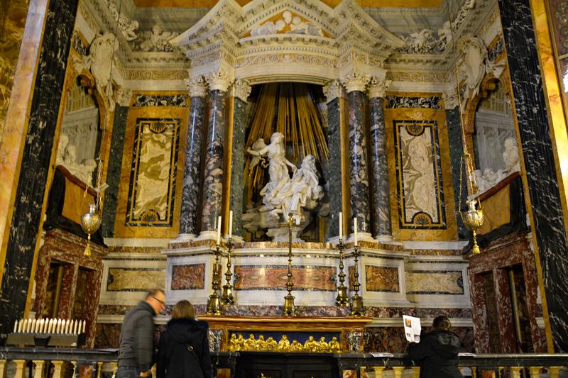 Santa Maria della Vittoria, Roma, Italia