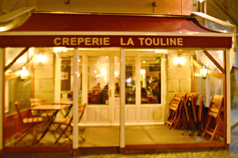 Creperie La Touline, Saint Malo, Haute Normandie, France - Alta Normandia, França