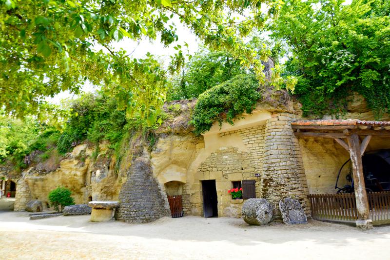 Village Troglodyte de Rochemenier em Saumur PAYS DE LA LOIRE e CENTRE NA FRANÇA